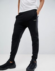 Love Moschino Gold Embroidered Logo Joggers Black