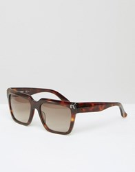 Karl Lagerfeld Sunglasses Turtle Dove Black