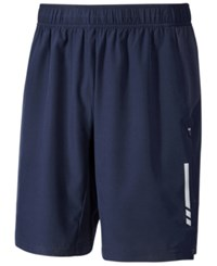 Ideology Id Men's Woven Training Shorts Only At Macy's Navy Blue