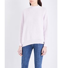 Moandco. Oversized Chunky Knit Jumper Orchid Hush