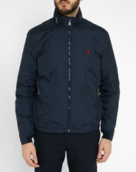 Polo Ralph Lauren Navy Quilted Nylon Jacket Blue