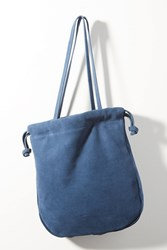 Monserat De Lucca Renee Suede Tote Bag Navy