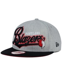 New Era Portland Trail Blazers Big Heather 9Fifty Snapback Cap