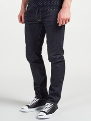 Edwin Ed 80 Red Listed Selvage Denim Slim Tapered Jeans Blue