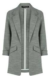 Warehouse Textured Blazer Light Grey