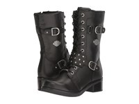 Harley Davidson Merrion Black Women's Lace Up Boots