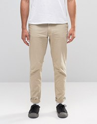 Jack And Jones Slim Fit Chino With Stretch Sand Yellow