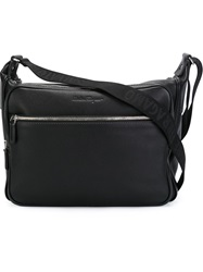 Salvatore Ferragamo Top Zip Briefcase Black