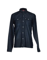 Fenchurch Denim Shirts Blue