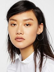 Free People Basic Babe Front Hoops By