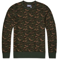 Barbour X White Mountaineering Blenyama Crew Neck Sweat Olive