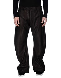 John Galliano Trousers Casual Trousers Men Dark Brown