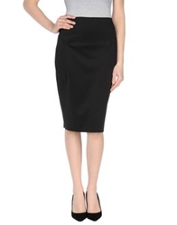 Siste's Siste' S 3 4 Length Skirts Black