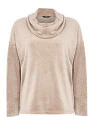 Tigi Cowl Neck Jumper Brown