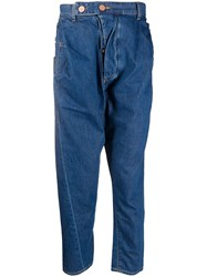 Vivienne Westwood Anglomania Alcoholic Jeans Blue