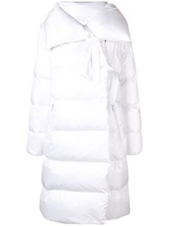 Bacon Puffer Jacket White
