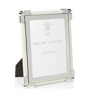 William Yeoward Photo Frame Leather Shagreen White 5X7