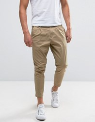 Only And Sons Cropped Chino Beige