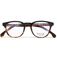 Paul Smith Round Frame Acetate Optical Glasses Brown