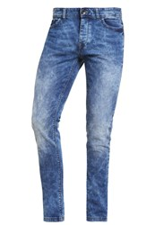 United Colors Of Benetton Slim Fit Jeans Bleached Bleached Denim