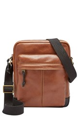 Fossil Men's Defender Ns Leather City Bag
