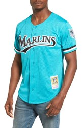 Mitchell And Ness Men's Andre Dawson Florida Marlins Authentic Mesh Jersey