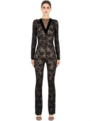 Pierre Mantoux Sophia Lace Jumpsuit