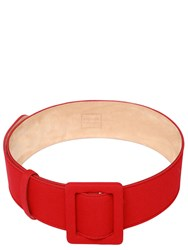 Fausto Puglisi Leather And Cady Belt