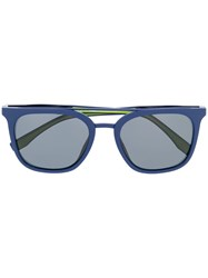 Fila Square Frame Sunglasses Blue