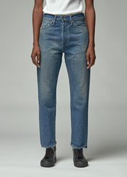 Chimala 'S Narrow Tapered Cut Jean In Vintage Light Size 25 100 Cotton