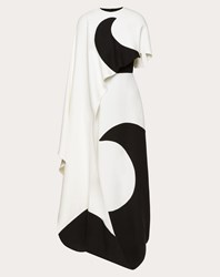 Valentino Cady Couture Inlay Dress Ivory Silk 100