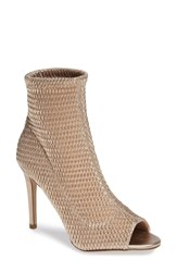 Bcbgmaxazria Bcbg Jane Bootie Rose Gold Faux Leather