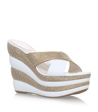 Rene Caovilla Holmes Wedges 135 Female White
