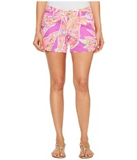 Lilly Pulitzer Callahan Shorts Amethyst Sunseekers Women's Shorts Pink