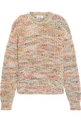 Acne Studios Zora Knitted Sweater Beige