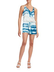 Young Fabulous And Broke Kenzie Short Jumpsuit Pacific Blue