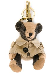 Burberry 'Mr Trench Thomas Bear' Keyring Nude And Neutrals