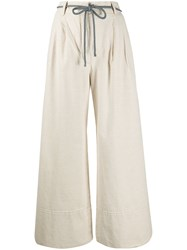 Baum Und Pferdgarten High Waisted Wide Leg Trousers 60