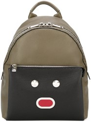 Fendi 'Selleria' Backpack Green