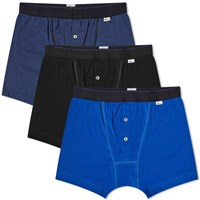 Schiesser Ludwig Boxer Short 3 Pack Blue