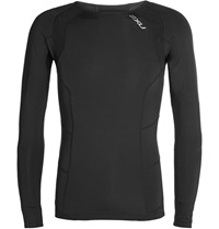 2Xu Long Sleeved Compression T Shirt Black