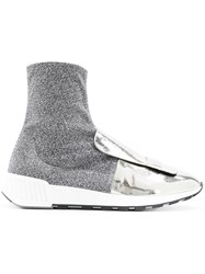 Sergio Rossi Metallic Sock