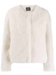 Paul Smith Ps Regular Fit Faux Fur Jacket 60