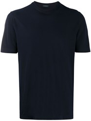 Zanone Relaxed Fit Cotton T Shirt 60