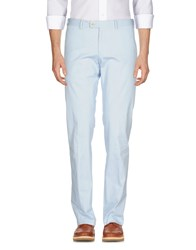 Reporter Casual Pants Sky Blue