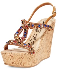Naughty Monkey Chasing Rainbow Platform Wedge Sandals Women's Shoes