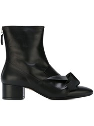 N 21 Nao21 Twist Detail Boots Black