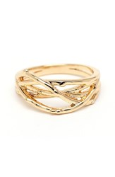 Women's Loren Olivia 'Tree Branch' Love Knot Ring