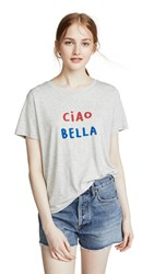 South Parade Ciao Bella Tee Grey