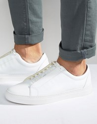 Vagabond Paul Leather Trainers White